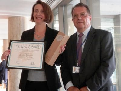 Winner of 2014 BIC Award Announced