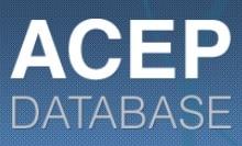 ACEP database