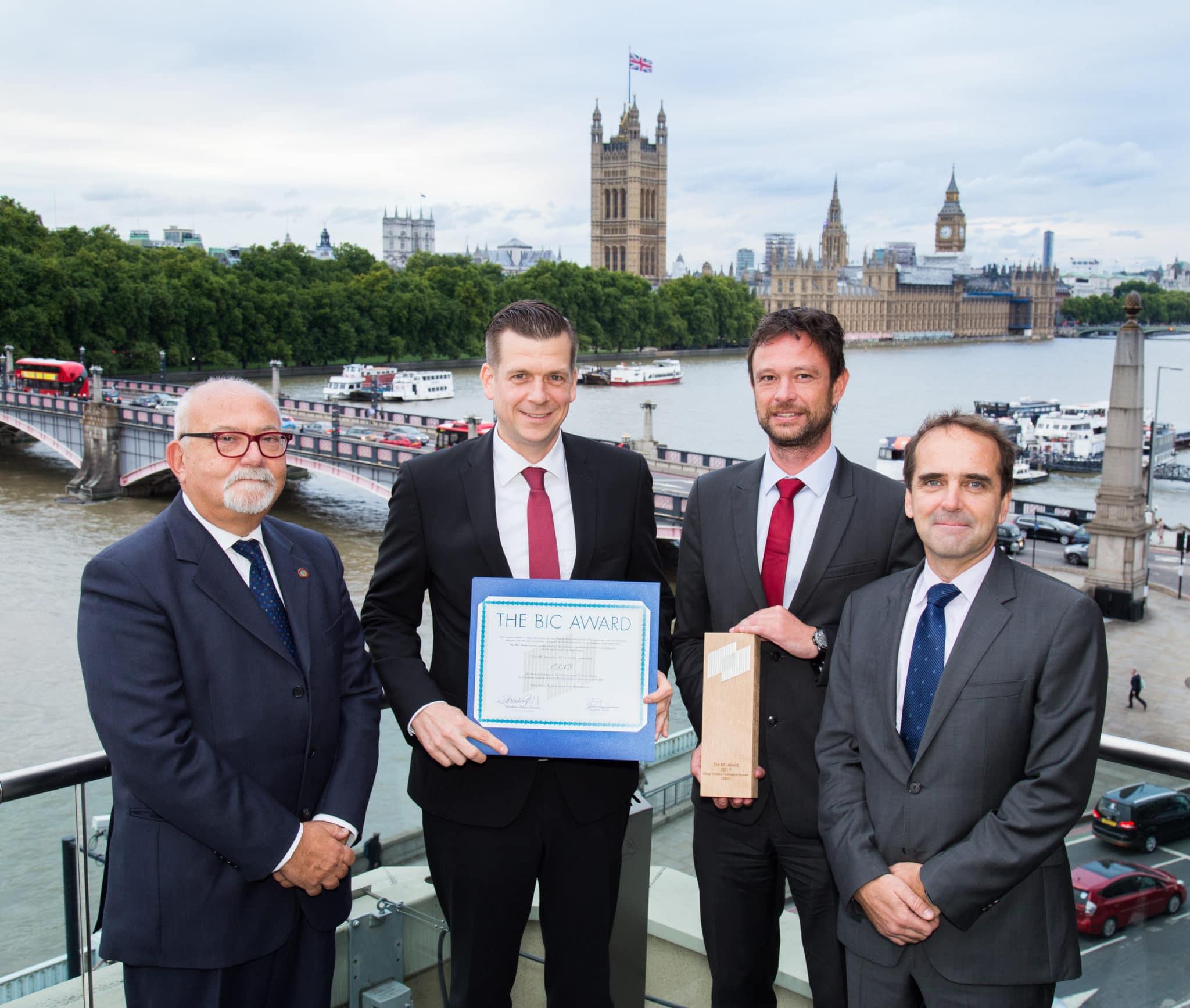 BIC Award Winner Cargo Incident Notification System
